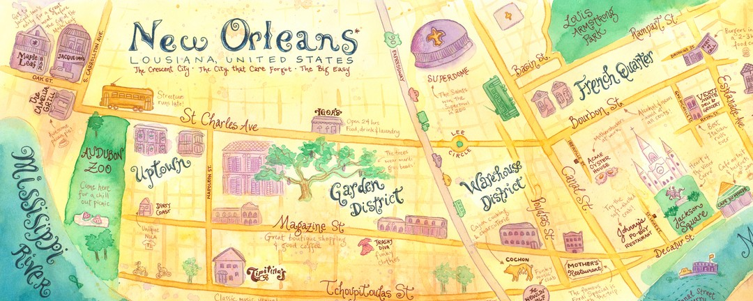 New Orleans, Louisiana by Kim Fleming